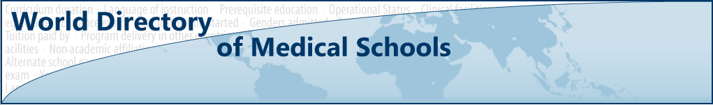 World Directory of Medical Schools